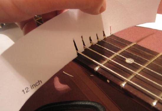 tools for measuring your fretboard radius pic heavy. Black Bedroom Furniture Sets. Home Design Ideas